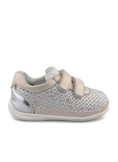 Cici Bebe Ayakkabı Deri Kız Çocuk Ayakkabısı Gümüş